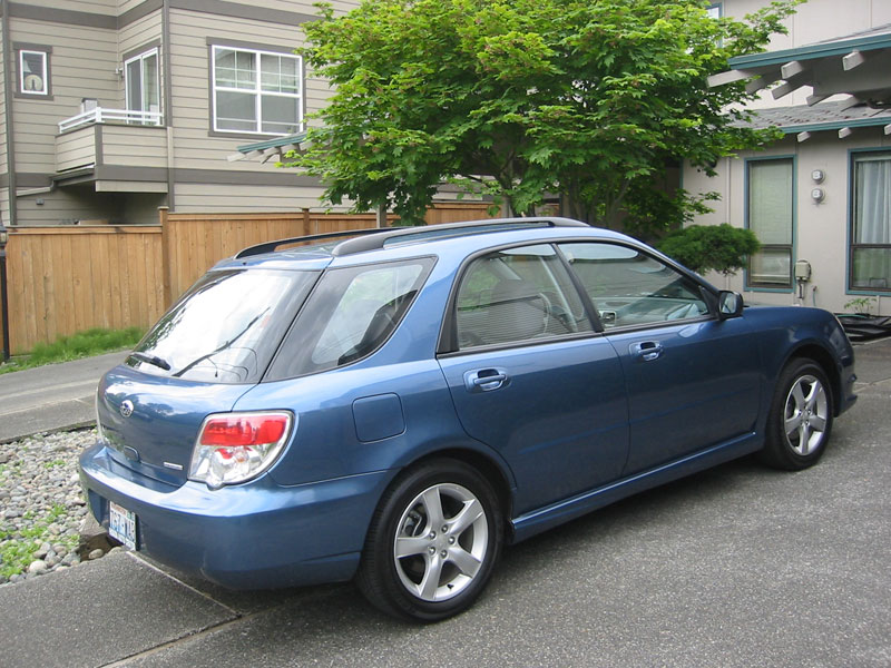 my new car 2007 subaru impreza wagon tweak3d. Black Bedroom Furniture Sets. Home Design Ideas