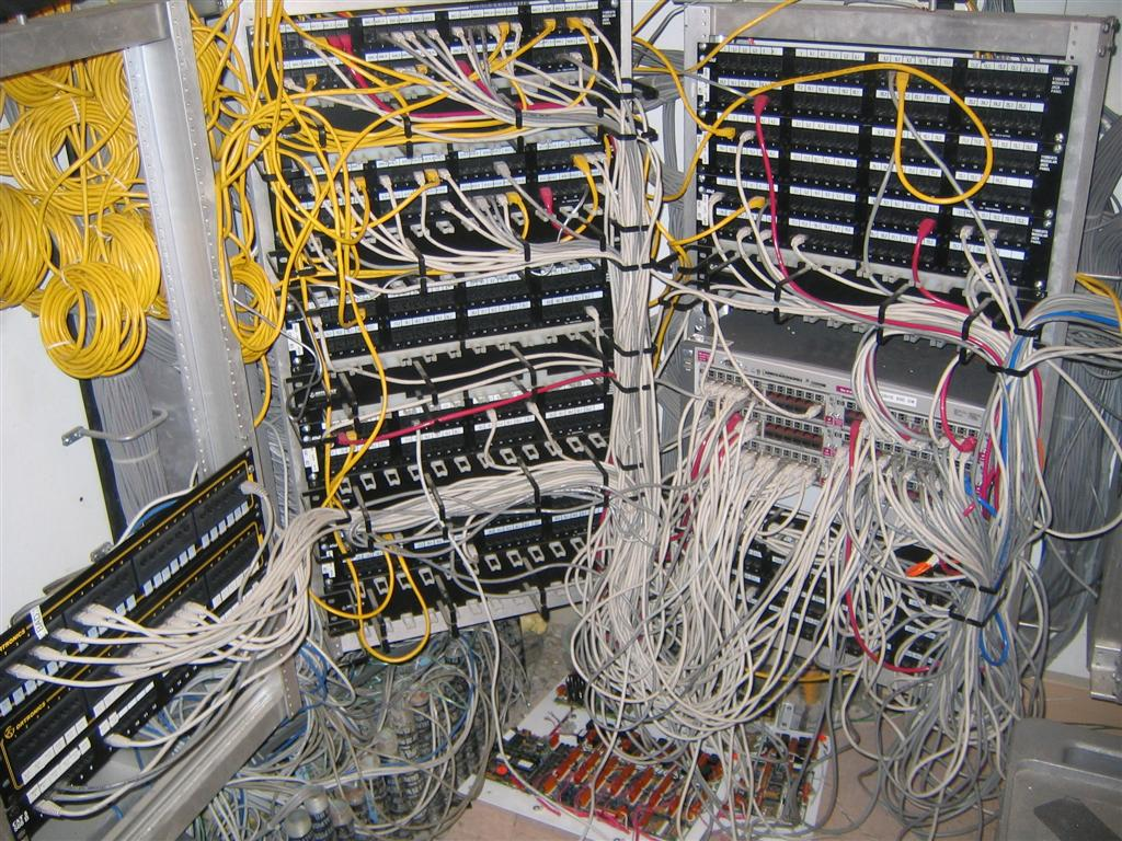 Post Your It Infrastructure Thread Tweak3d Wiring Closet Mess The Original Buildings Had This